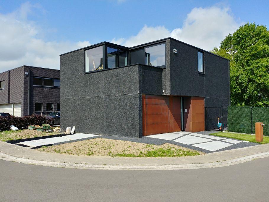 Gezellige compacte ben staalbouw woning architect for Staalbouw woningen